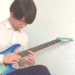 """ギタリスト「ichika」仕様ギター「アイバニーズ""""S5527QFX""""(カスタム)」【機材スペック】"""